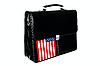 ID 3135545 | Aktentasche und die Flagge der USA | Foto mit hoher Auflösung | CLIPARTO
