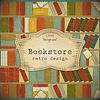 Vintage-Hintergrund von Büchern im Scrapbooking-Stil