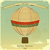 Klassiker Balloon Retro-Karte