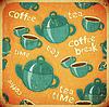 Kaffee, Tee, Tassen und Kaffee Teekanne