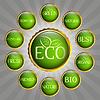 Green Eco Abzeichen