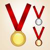 Satz von Medaillen