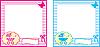 아기 사진 구조 | Stock Vector Graphics