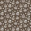 ID 3268227 | Seamless wzór Cupcake | Klipart wektorowy | KLIPARTO