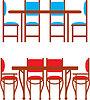Set Esstische und Stühle