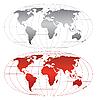 世界地图 | 向量插图