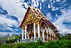 오래된 불교 사원 | Stock Foto