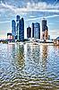 ID 3144350 | Wieżowce w Moskwie - Rosja | Foto stockowe wysokiej rozdzielczości | KLIPARTO