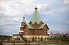 ID 3148763 | Moderne christliche Holzkirche | Foto mit hoher Auflösung | CLIPARTO