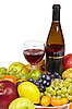 ID 3152621 | Вино и фрукты - натюрморт | Фото большого размера | CLIPARTO
