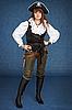 아름다운 소녀 - 해적 | Stock Foto