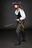 ID 3160489 | Piraten-Mädchen mit Pistole und Säbel | Foto mit hoher Auflösung | CLIPARTO