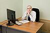 ID 3165929 | Geschäftsmann auf Arbeitsplatz | Foto mit hoher Auflösung | CLIPARTO