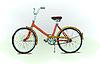 Old-fashioned Fahrrad -