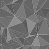 Nahtlose Textur - abstrakte Polygone eps