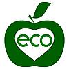 Vektor Cliparts: ökologischen Reinheit des Zeichens