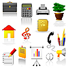 Set von Web-Icons | Stock Vektrografik