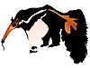 Vektor Cliparts: Ameisenbär