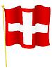 Vektor Cliparts: Flagge der Schweiz