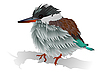 Vektor Cliparts: kleiner Vogel