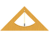 Векторный клипарт: деревянные строитель `ы уровне