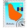 stampfen mit den Image-Maps von Barbados