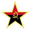Gold-Star mit Flagge von Afghanistan