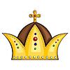 Königliche Krone