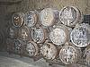 ID 3156183 | Bardzo stare beczki do transportu wina | Foto stockowe wysokiej rozdzielczości | KLIPARTO