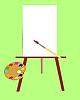 Werkzeuge des Künstlers
