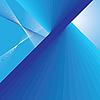 Abstrakte blaue Linien als Hintergrund | Stock Vektrografik