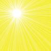 Jasne słońce tło promieniowania | Stock Vector Graphics
