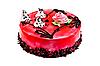 빨간색 젤리 케이크 | Stock Foto