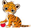 Nettes Tigerjunge