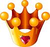Liebes-Krone einer Prinzessin