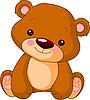 забавный медведь