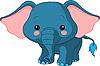 Comic-Elefant
