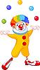 Jonglier Clown