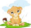 Sad Löwenbaby