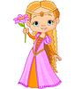 Schöne kleine Prinzessin