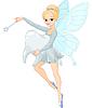 Nette Tooth Fairy mit fliegenden Tooth