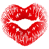 ID 3198741 | Pocałunek drukiem w kształcie serca | Klipart wektorowy | KLIPARTO