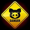 Warnung-Zeichen H1N1