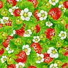 ID 3235598 | Nahtloser Hintergrund von Erdbeeren | Stock Vektorgrafik | CLIPARTO