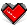 Herz geben Liebe