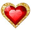 Сердце ювелирные изделия | Векторный клипарт