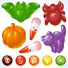 ID 3279141 | Halloween Food - Przerażające Treats i smaczne posiłki | Klipart wektorowy | KLIPARTO
