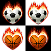 ID 3350032 | Football, basketball  ball  | Klipart wektorowy | KLIPARTO
