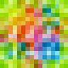 Разноцветные квадраты шаблон | Векторный клипарт