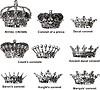 Hiszpański korony | Stock Vector Graphics